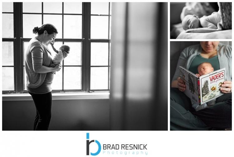 lifestyle newborn photography nj