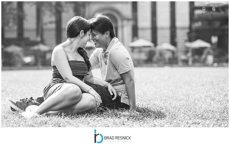 Bryant Park NYC Engagement