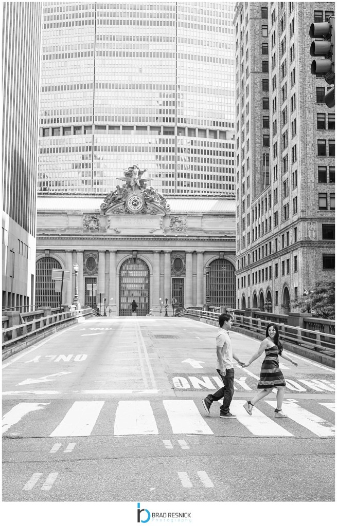 Grand Central Station Engagement Photos