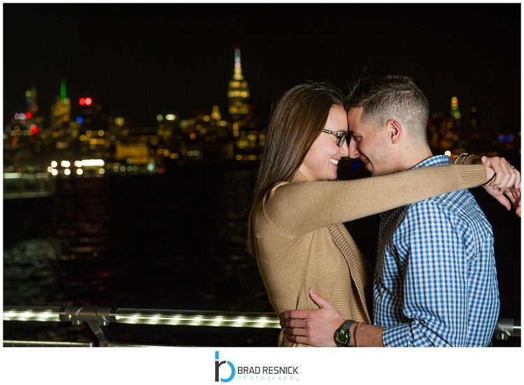 Hoboken NJ Engagement Photography